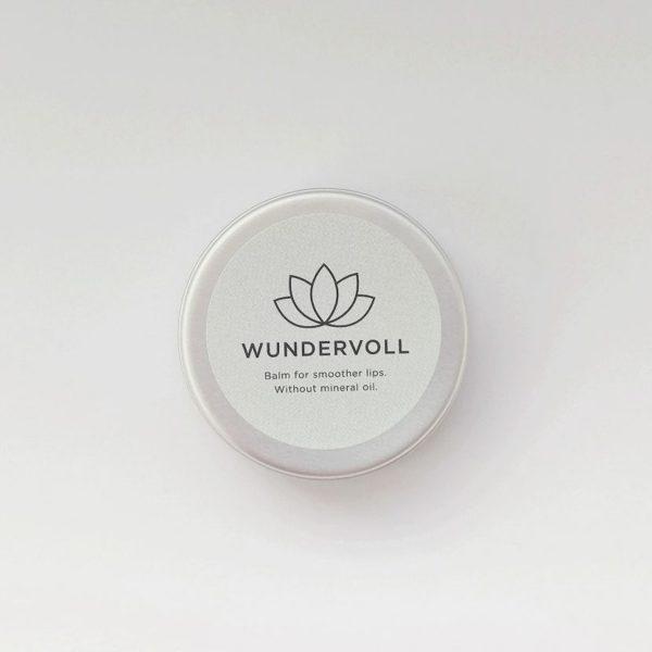 Wundervoll, Lippenbalsam, Lipbalm, Lipbutter, smooth lips, organic, Lotus, Vanilla Vanille, Kokos