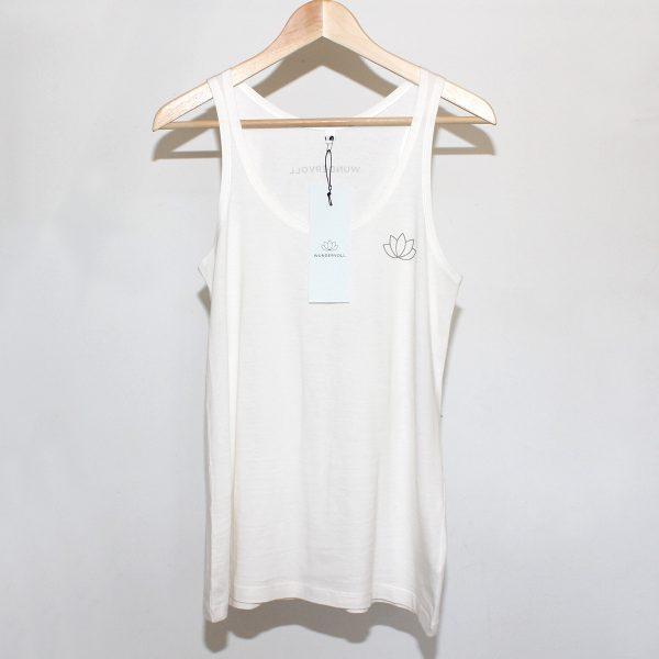 WUNDERVOLL Logo Shirt, Cotton, Fair Trade, Handprinted