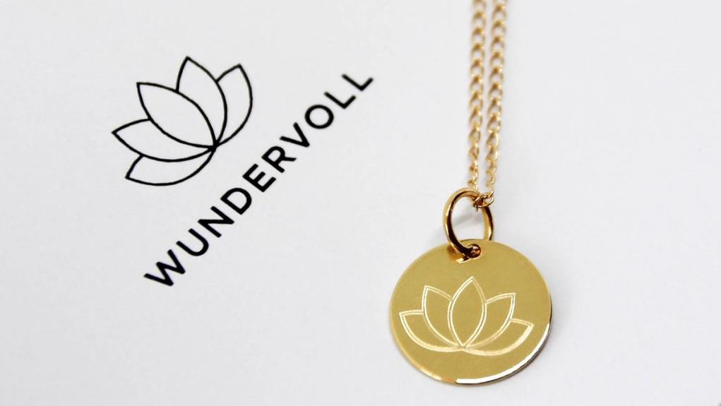 WUNDERVOLL, Edition, Schmuck, Jewelry, handmade, Lotus
