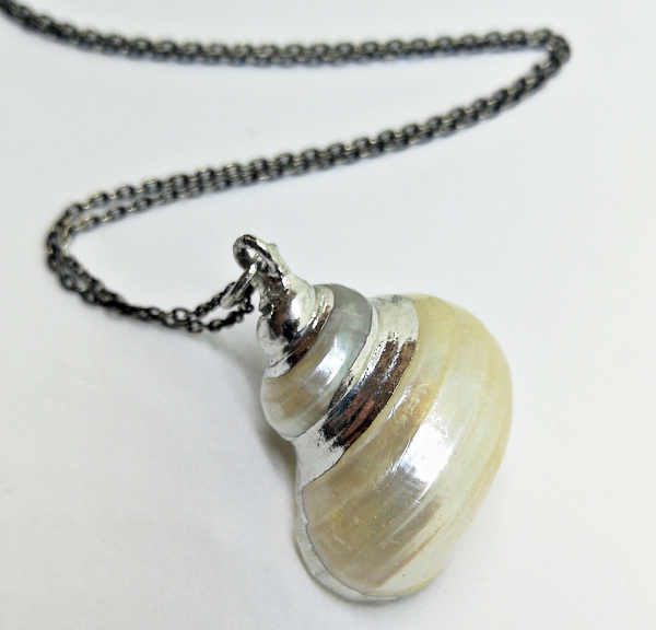 WUNDERVOLL FINE LITTLE TREASURES LUA Turbo Shell Necklace