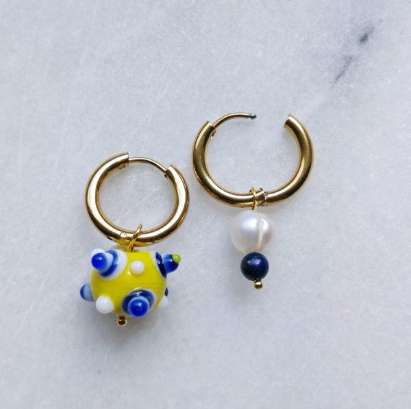 WUNDERVOLL AMORE Chiara Earrings Murano Glass